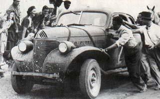 Europa está cerca. El Chevrolet en la Vuelta de Pringles de 1948