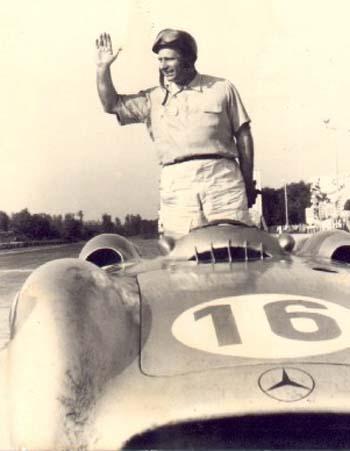 Mercedes Benz W196 - Fangio - GP Italia 1954 - Minichamps 1:43 Monza54fangio
