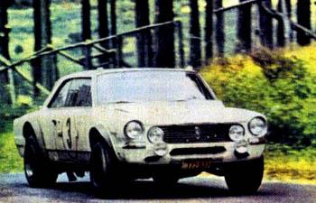 El Torino en la competencia 84 horas de Nurburgring 1969.